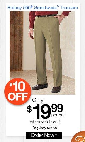 Botany 500 Smartwaist? Trousers
