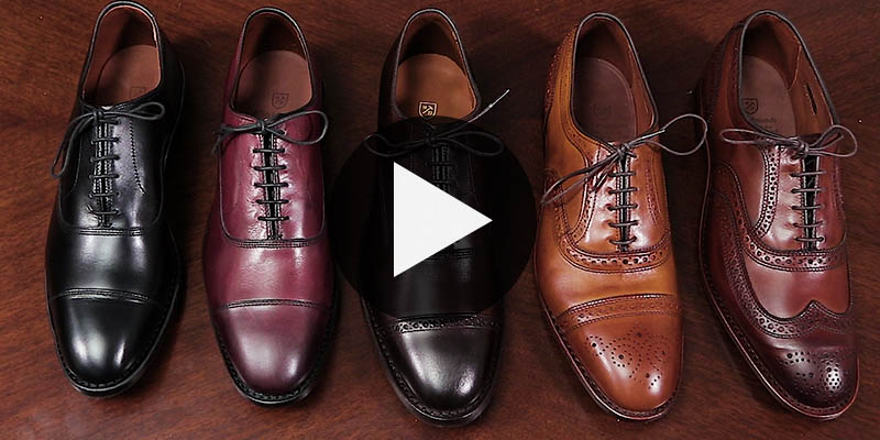Allen Edmonds Shoe Polish Color Guide