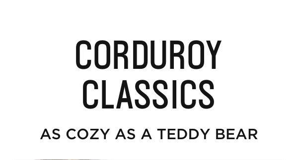 Corduroy Classics