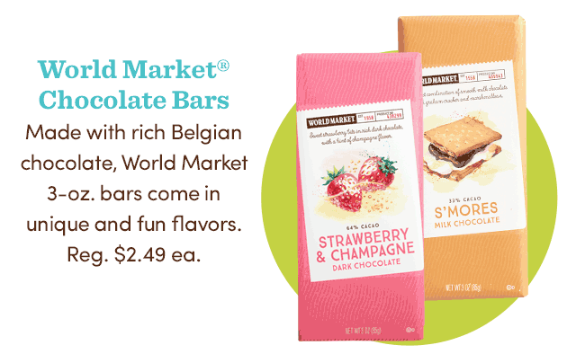 World Market Chocolate Bars ›