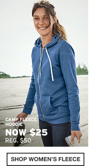 UP TO 60% OFF FALL FAVORITES | SHOP WOMEN'S FLEECE