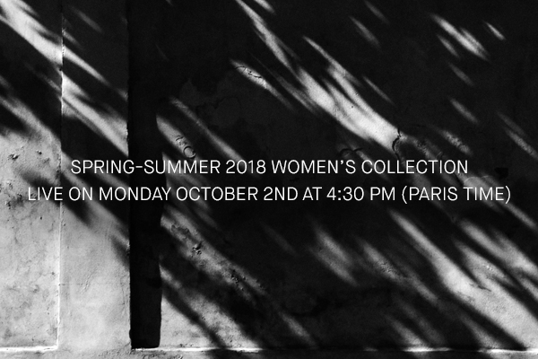 Take a peek at the Spring-summer 2018  collection