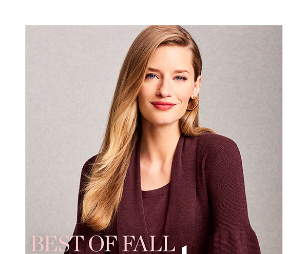 Best of Fall Sweaters. With knit newness in the most impeccable fabrics and plushest of yarns...what's not to luxe? Shop Our Luxe Collection
