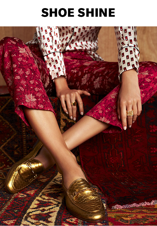 Step into the luxe look, courtesy of Sam Edelman's opulent fall pairs.