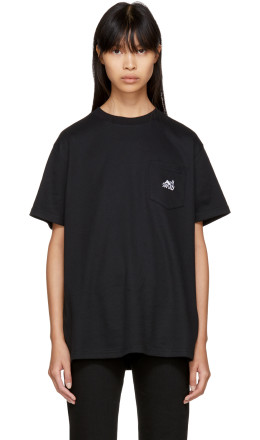 Alyx - Black 'Stay Lazy' Pocket T-Shirt