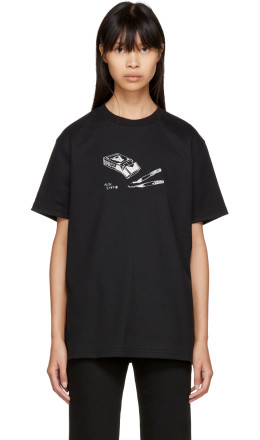 Alyx - Black 'Beliefs in Nothing' T-Shirt
