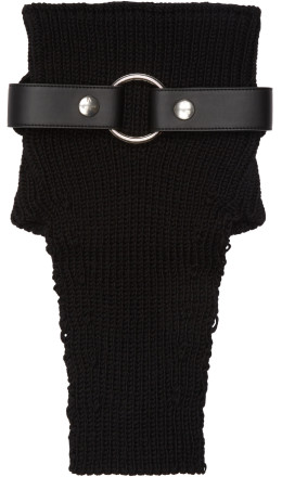 Alyx - Black Wool Neck Warmer