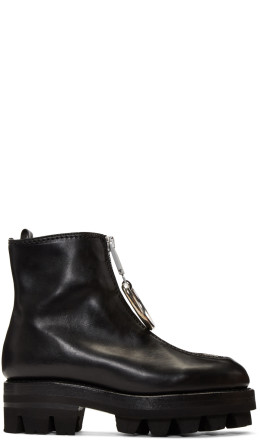 Alyx - Black D-Ring Tank Boots
