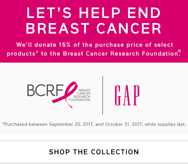 LET'S HELP END BREAST CANCER | SHOP THE COLLECTION