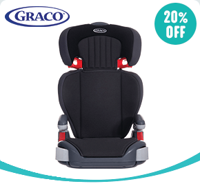 Graco Junior Maxi Group 2-3 Car Seat Midnight Black