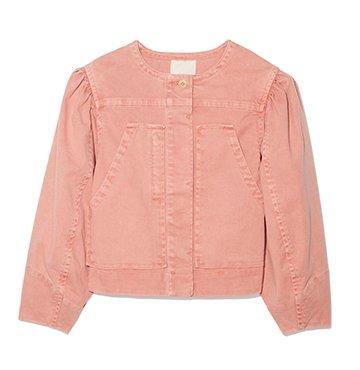 Rebecca Taylor La Vie Twill Jacket $295