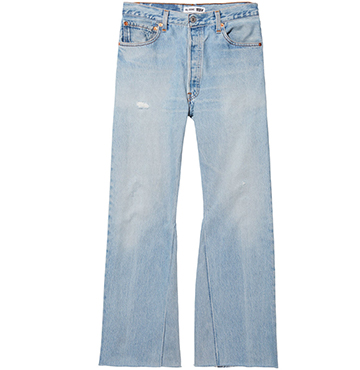 RE/DONE The Leandra Jean (Non-Destruct) $348.00