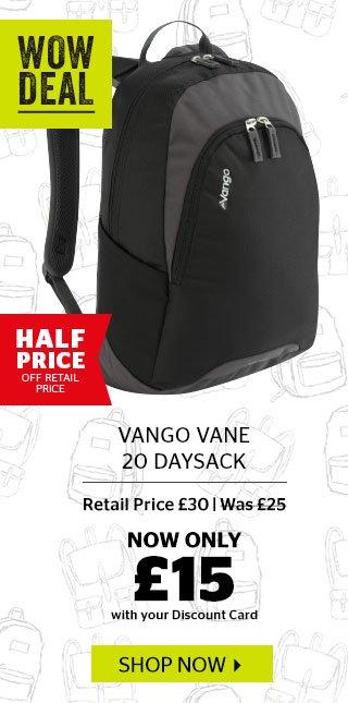 Vango Vane 20 Daysack