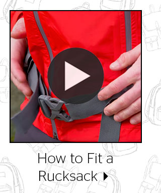How to Fit a Rucksack