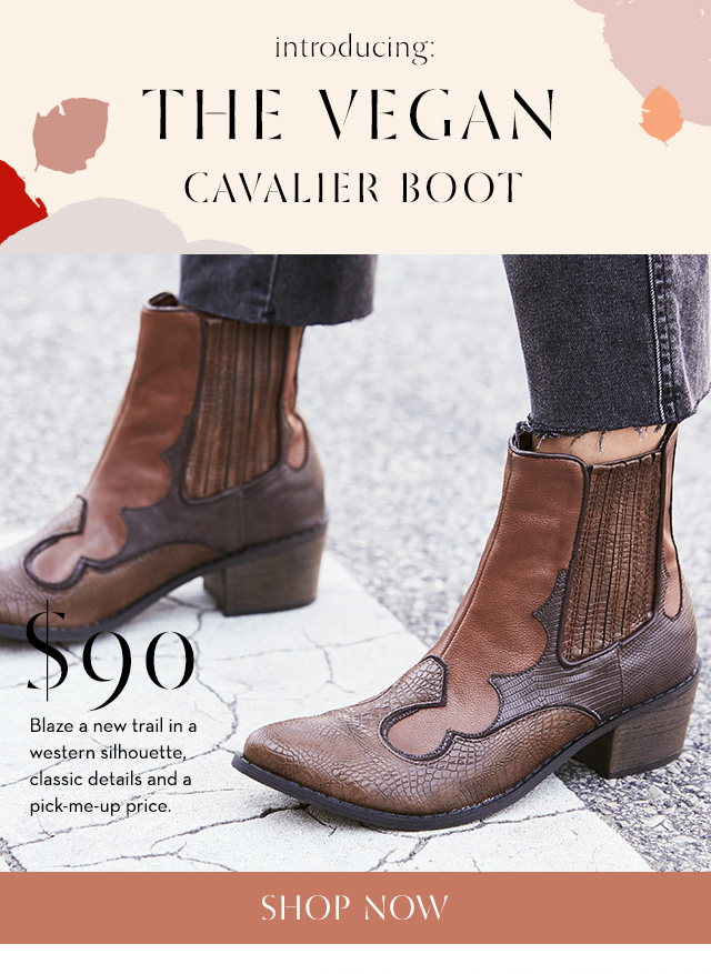 Shop the Vegan Cavalier Boot