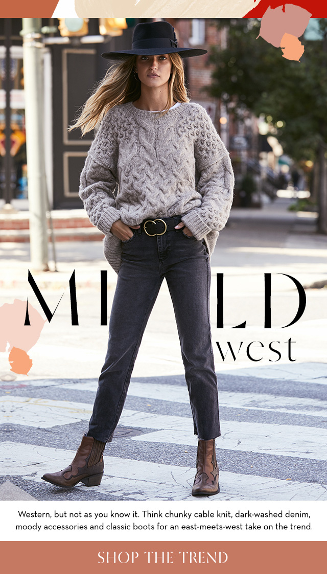 Shop the Mild West Trend