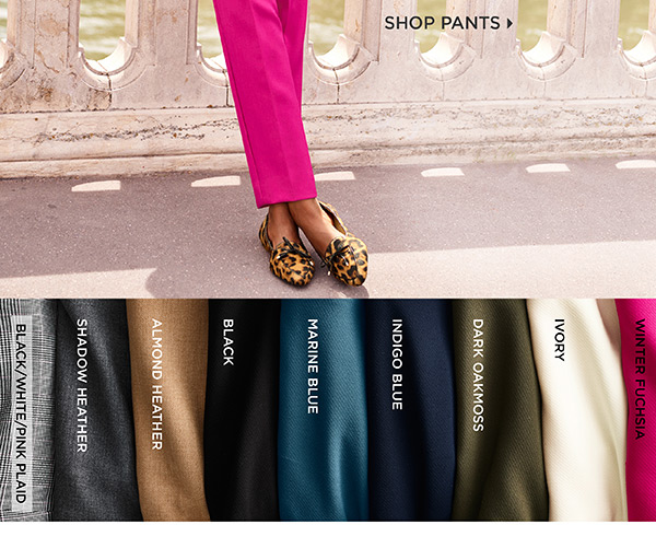 Talbots Hampshire Ankle. Your favorite style, in two just-right-for-fall fabrics and a host of new hues. Shop Pants