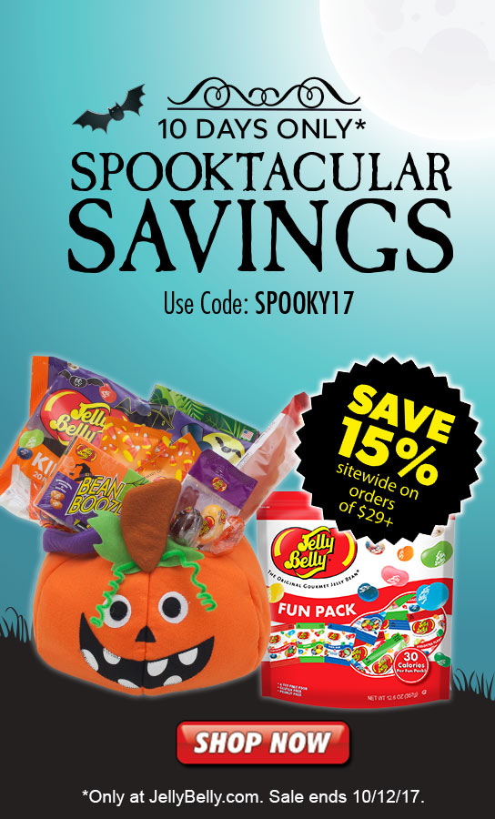 Save 15% on JellyBelly.com on Orders over 29 dollars