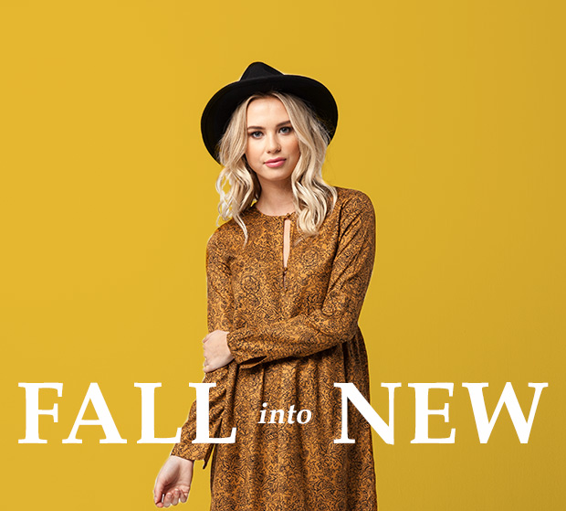 FALL INTO NEW