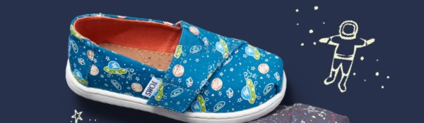 Glow In The Dark Outerspace Tiny TOMS Classics