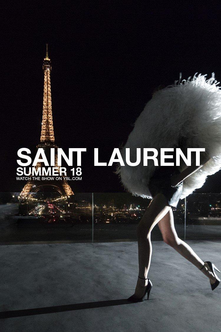 Saint Laurent Summer 18 Show