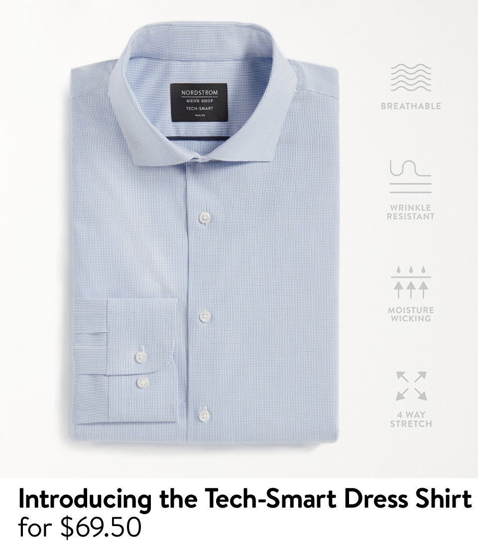 Nordstrom: Introducing the Tech-Smart dress shirt from Nordstrom ...