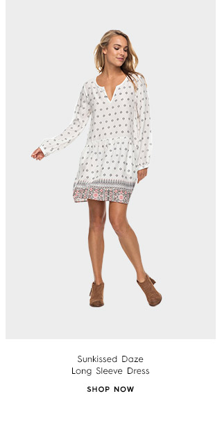 Product 3 - Sunkissed Daze Long Sleeve Dress
