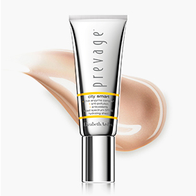 HYDRATE & SHIELD PREVAGE® City Smart hydrates, defends and protects skin all-day. FIGHT POLLUTION