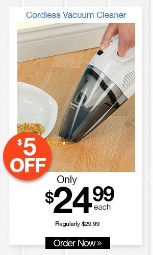 Go Vac Cordless Vacuum Cleaner