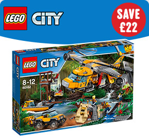 LEGO 60162 City Jungle Air Drop Helicopter