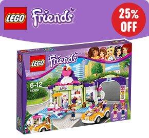 LEGO 41320 Friends Heartlake Frozen Yogurt Shop