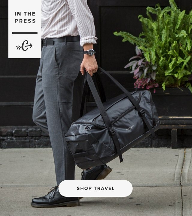 In the Press | Carryology | Quest Duffel | Shop Travel