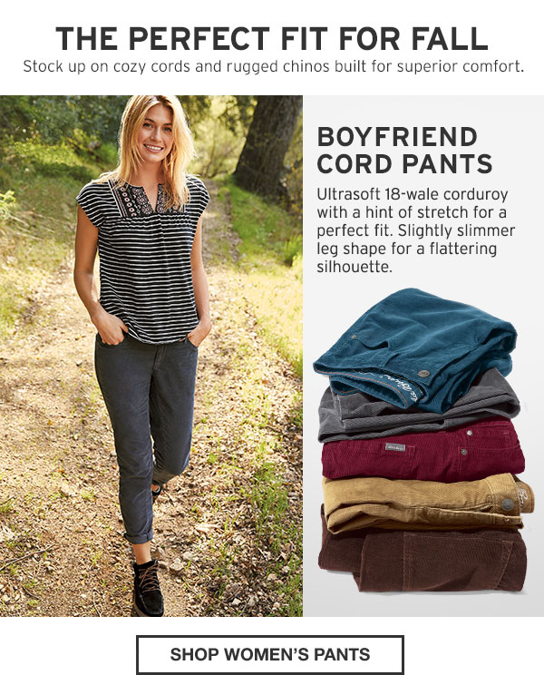 THE PERFECT FIT FOR ALL | SHOP WOMEN'S PANTS