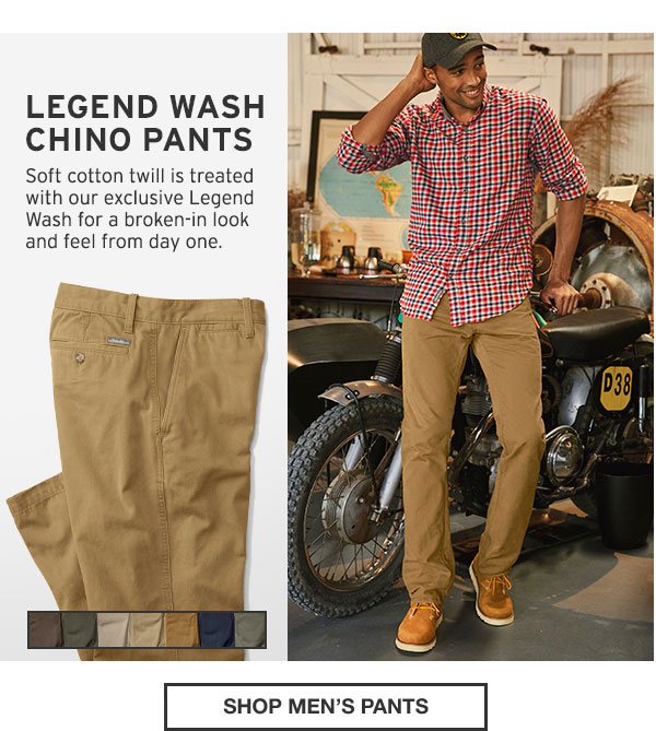 THE PERFECT FIT FOR ALL | SHOP MEN'S PANTS