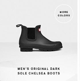 Men's Dark Sole Chelsea Boots