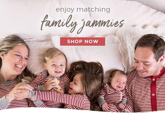 99cc5ca09d8a Burt s Bees Baby  Deck your fam in family jammies fa la la la la ...