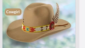 Felt Cowgirl Hats