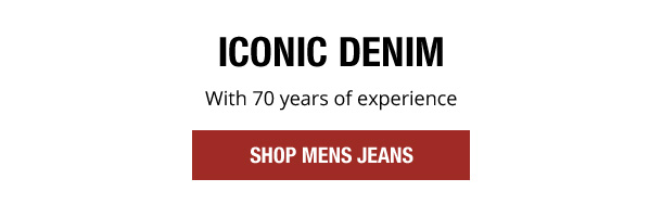 Iconic denim with 70 years of experience. Shop Mens Jeans.