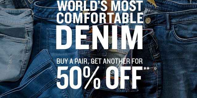 World's Most Comfortable Denim