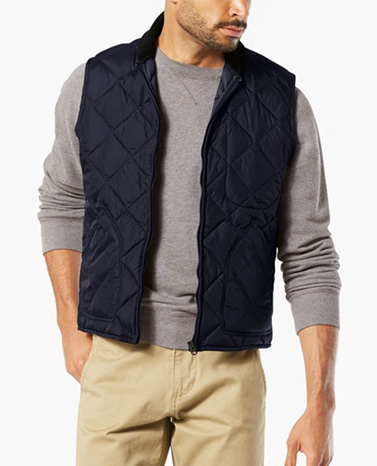 SHOP THE QUILTED VEST