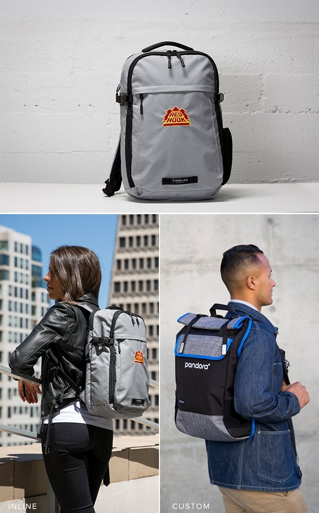 Red Hook on Division Backpack (inline) | Pandora on Custom Prospect Backpack (custom)