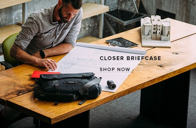 Closer Breifcase | Shop Now