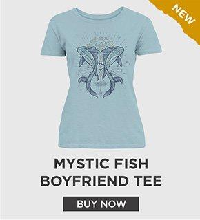 Mystic Fish Boyfriend Tee