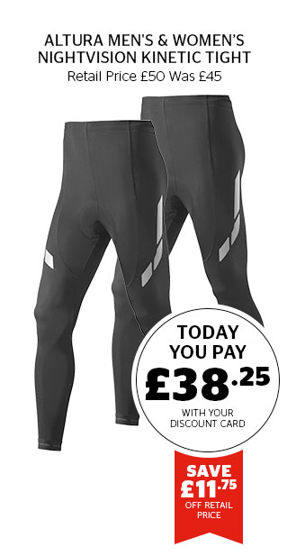 Altura Men's & Women's NightVision Kinetic Tight