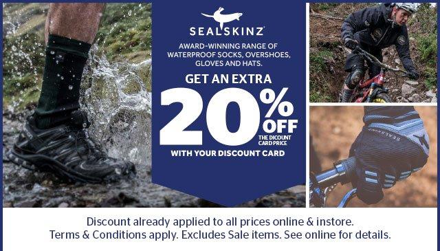 20% Off Sealskinz
