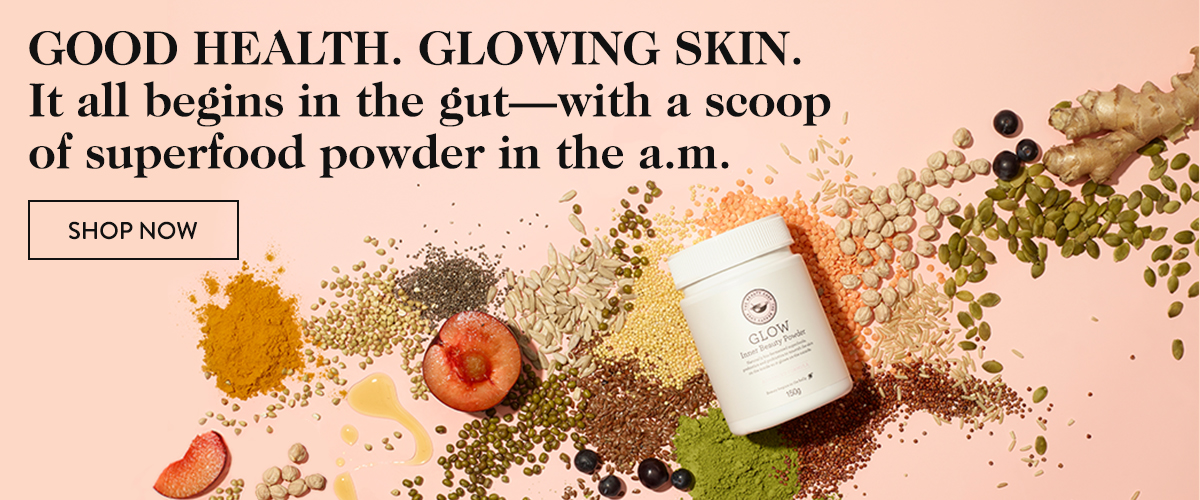 Glowing Skin Begins in the Gut - with a Scoop of Superfood Powder