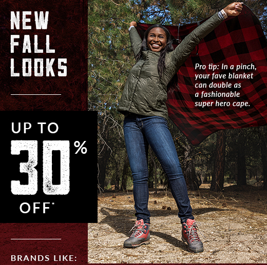 New Fall Looks - up to 30% off