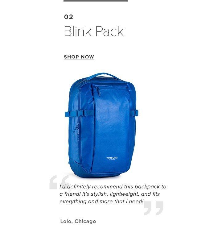 02 Blink Pack | Shop Now