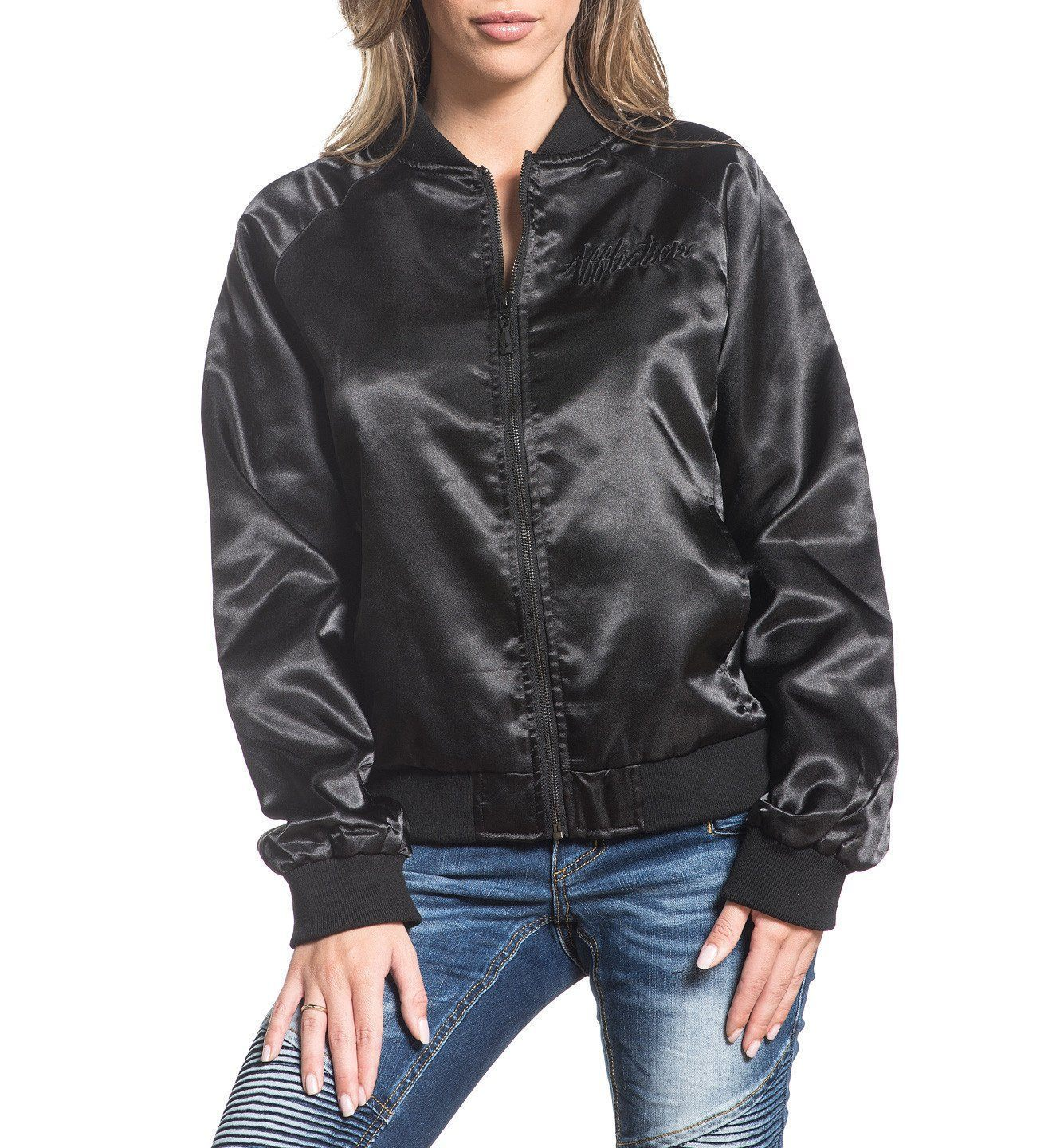 Flex Satin Jacket