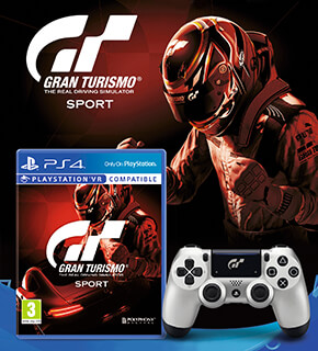 Gran Turismo Sport Limited Edition Dualshock 4 + Game Bundle